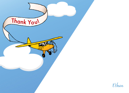 Thank You - Airplane Banner