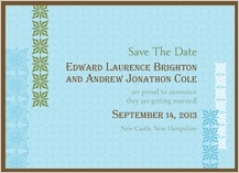 Save the Date Card - breathe