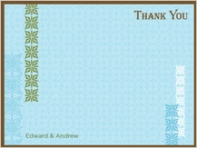 Wedding Thank You Card - breathe