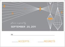 Response Card - geometric