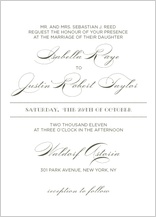 Wedding Invitation - lux