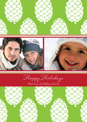 Christmas Cards - Pine Cones are Fun