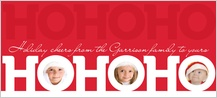 Christmas Cards - three holiday cheers