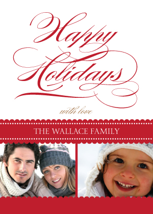 Christmas Cards - Happy Holidays