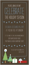 Holiday Party Invitations - jolly presents