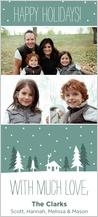 Christmas Cards - snowy winter