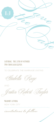 Save the Date Card - Sweet Love