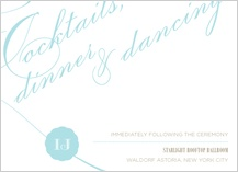 Reception Card - sweet love