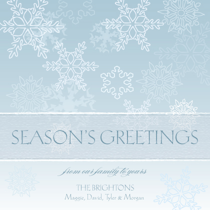 Holiday Cards - Winter Greetings