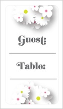 Place Card - mr. & mrs