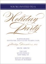 Holiday Party Invitations - happy holidays