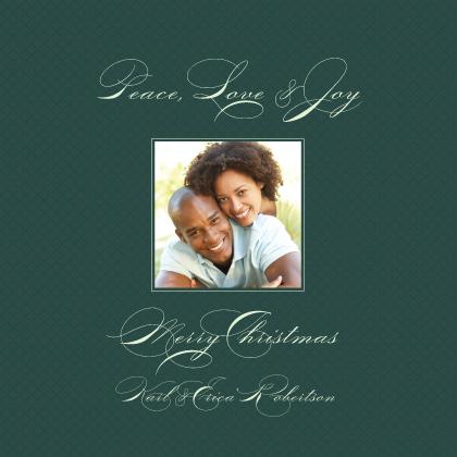 Christmas Cards - Peace Love Joy