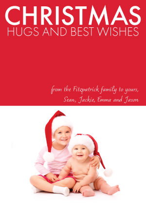 Christmas Cards - Christmas Hugs