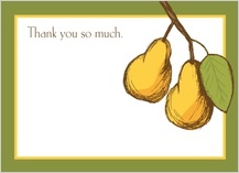 Thank You - pears