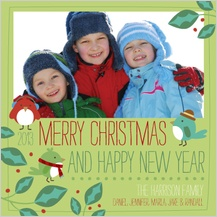 Christmas Cards - holly jolly