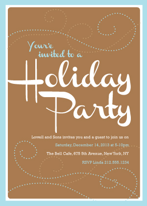 Holiday Party Invitations - Holiday Party Time
