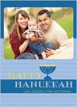 Hanukkah Cards - bright hanukkah