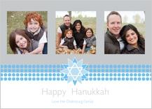 Hanukkah Cards - hanukkah star of david