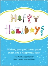 Holiday Cards - holiday picture message