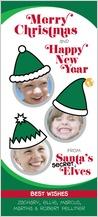 Christmas Cards - three secret elves