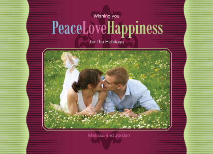 Holiday Cards - PeaceLoveHappiness
