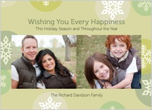 Holiday Cards - every happiness