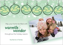 Holiday Cards - warmth & wonder