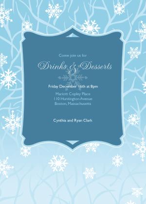 Holiday Party Invitations - Joyous Season