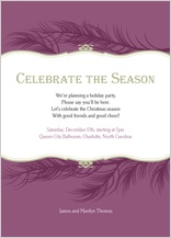 Holiday Party Invitations - spirit of good will