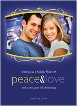 Holiday Cards - peace&love