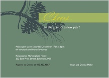 Holiday Party Invitations - warmest wishes