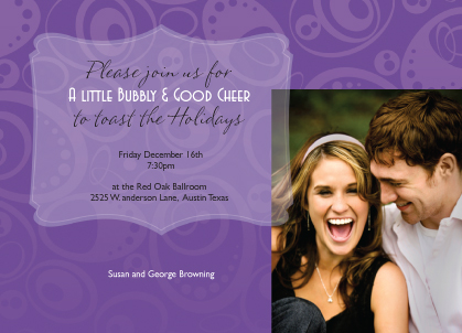 Holiday Party Invitations - Every Happiness