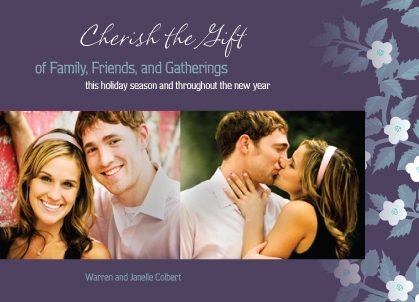 Holiday Cards - Cherish the Gift
