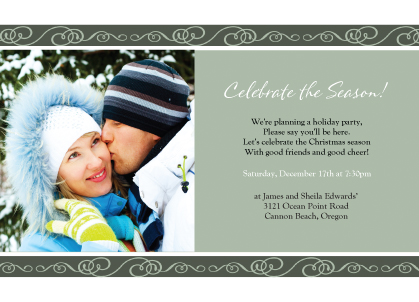 Holiday Party Invitations - All The Good Things
