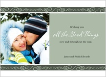 Holiday Cards - all the good things