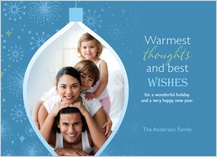 Holiday Cards - our warmest thoughts