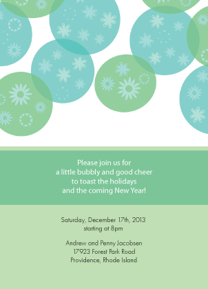 Holiday Party Invitations - Warm Wishes