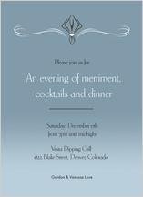 Holiday Party Invitations - holiday wish