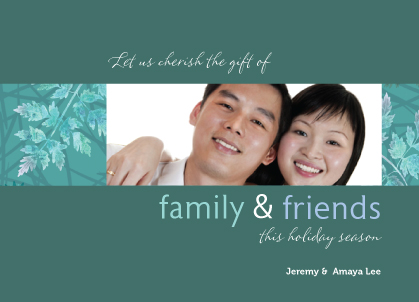 Holiday Cards - Family & Friends