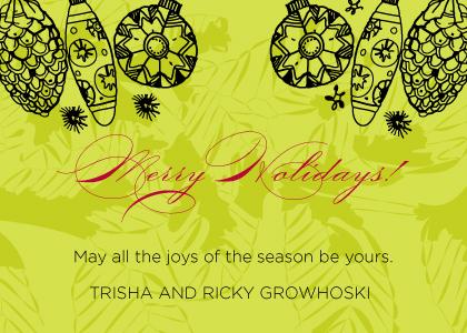 Christmas Cards - Merry Holidays