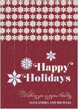 Christmas Cards - snowflaky
