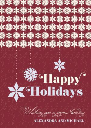 Christmas Cards - Snowflaky