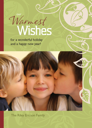 Holiday Cards - Our Warmest