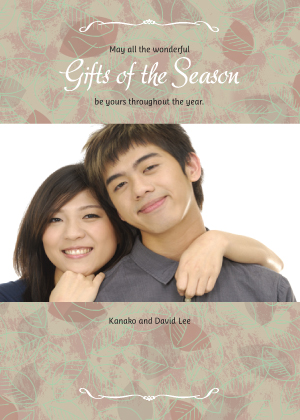 Holiday Cards - Gifts of the Season