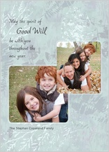 Holiday Cards - spirit of good will