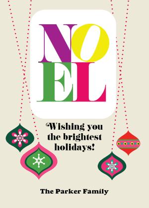 Christmas Cards - Noel Greetings
