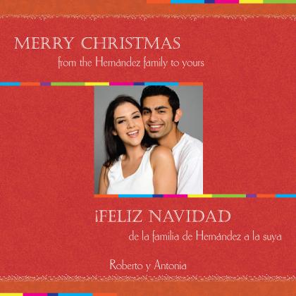 Christmas Cards - Feliz Navidad Square