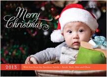 Christmas Cards - merry christmas script