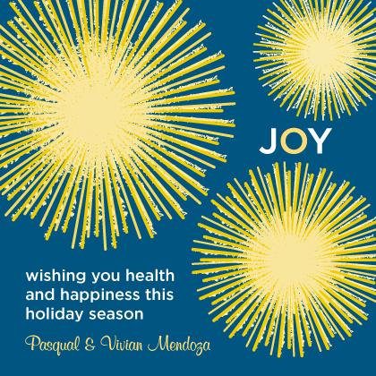 Holiday Cards - Joyful Burst
