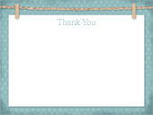 Baby Thank You Card